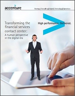 Transforming the Financial Services Contact Center- A Human Perspective in the Digital Era